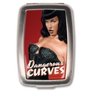 Accessories - Bettie Page Dangerous Curves - Meds Pill Box
